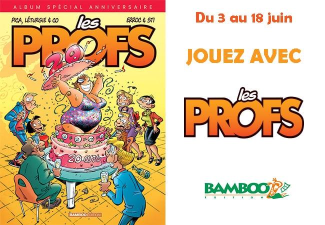 concours Les Profs 20 ans Mafamillezen