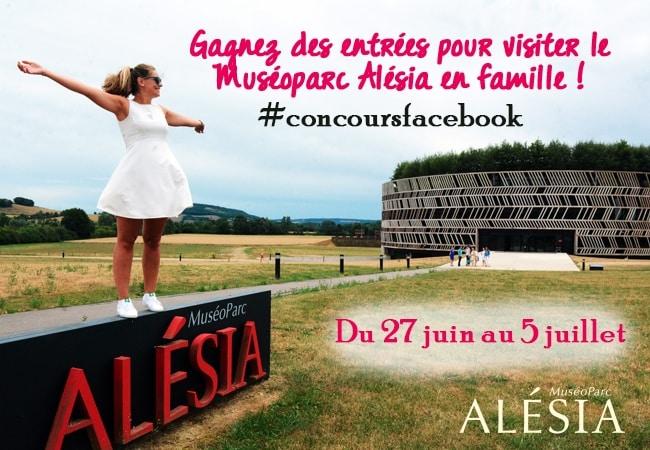 MuséoParc Alésia concours facebook Mafamillezen