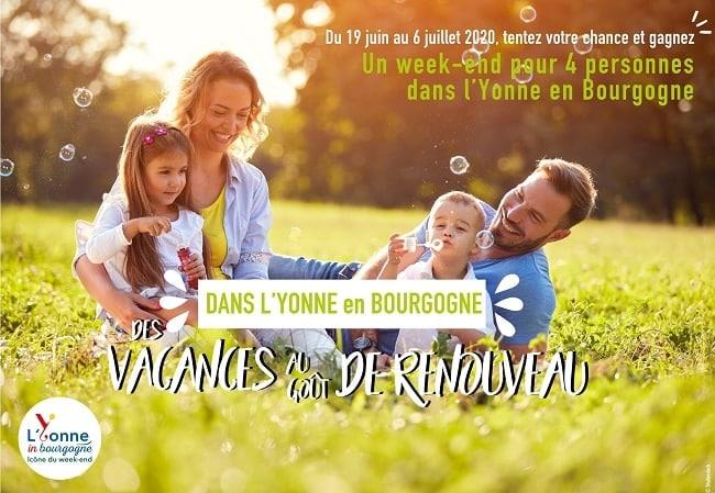 concours weekend dans l'Yonne