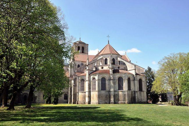 l'abbaye de Vézelay
