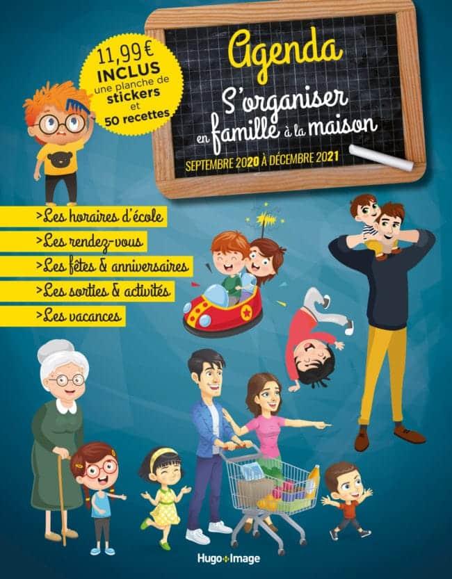 agenda familial 2020 Hugo&Cie