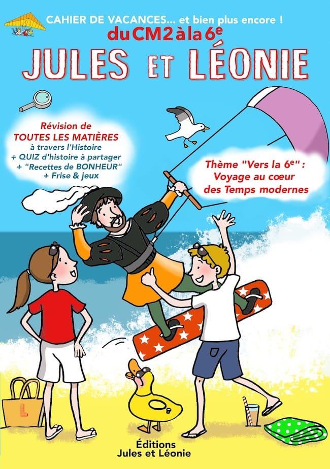 Cahier de vacances Jules et Léonie
