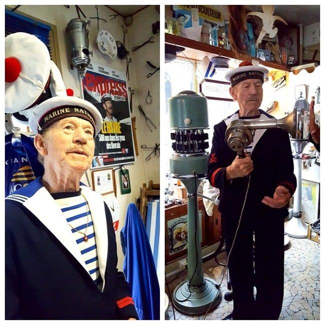 Daniel Lecompte, propriétaire du Salon des Navigateurs au Havre