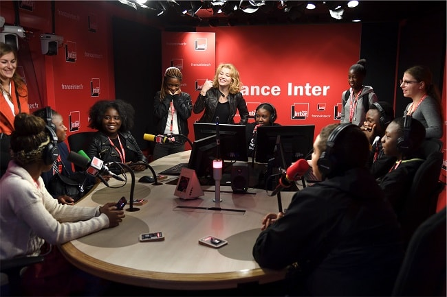 InterClass' émission radi d'Emmanuelle Daviet sur France Inter