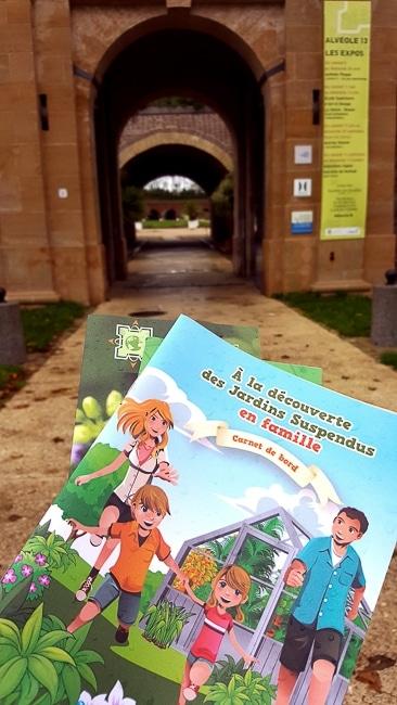 Visite des Jardins Suspendus du Havre avec les livrets-jeux enfants