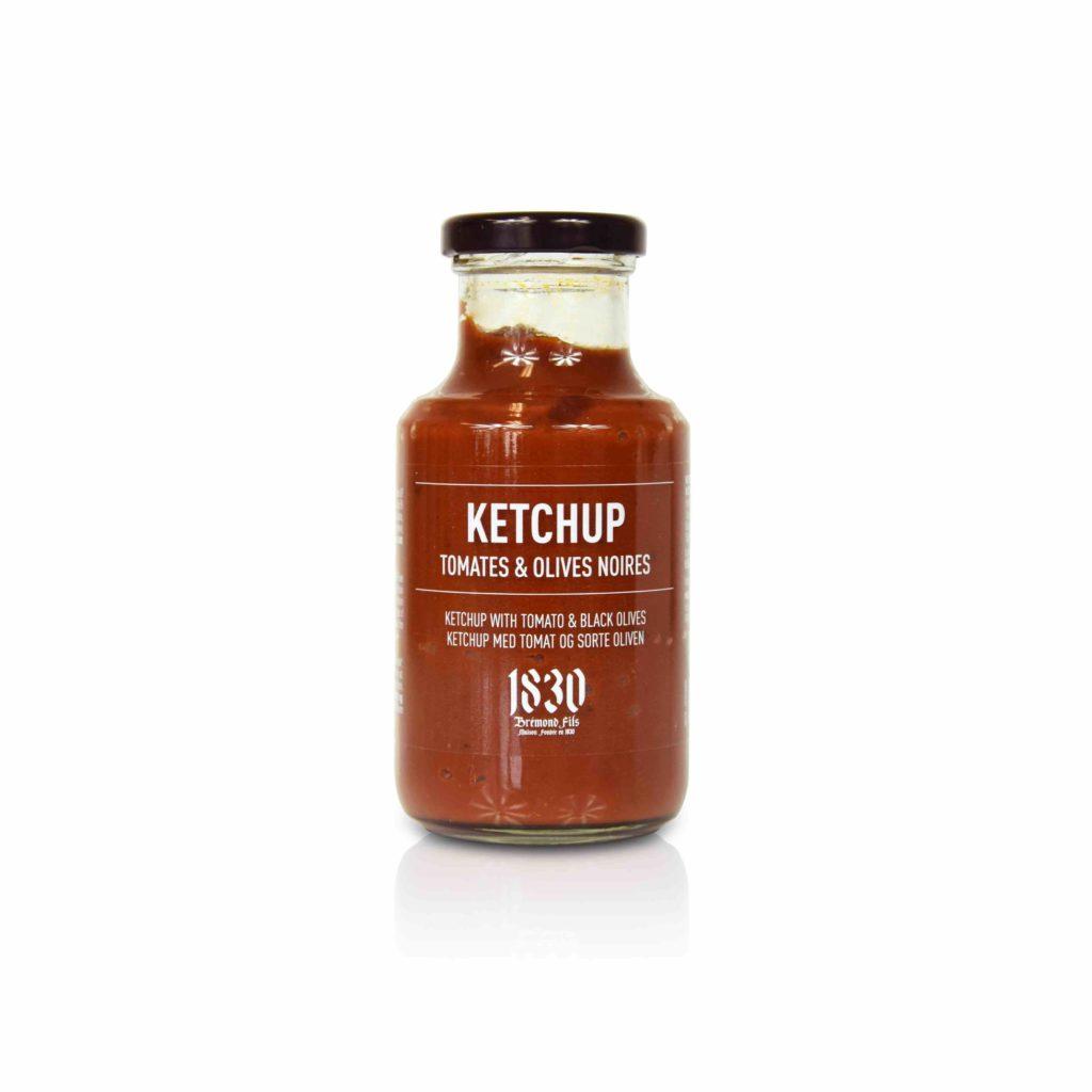 Ketchup aux olives noires Maison Brémond