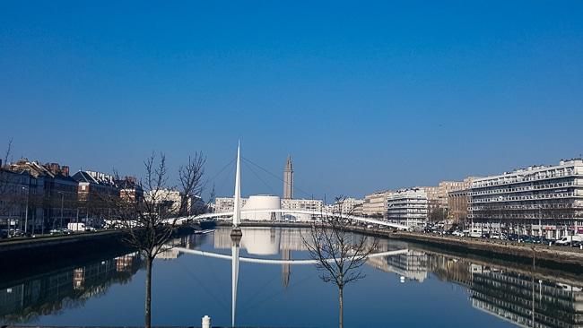 Le Bassin du Commerce au Havre