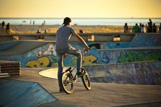 Le skatepark du Havre, face à la mer