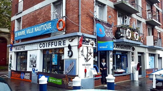 Le Salon des Navigateurs, salon de coiffure musée au Havre