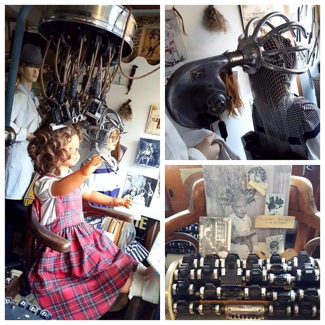 Un salon de coiffure-musée au Havre
