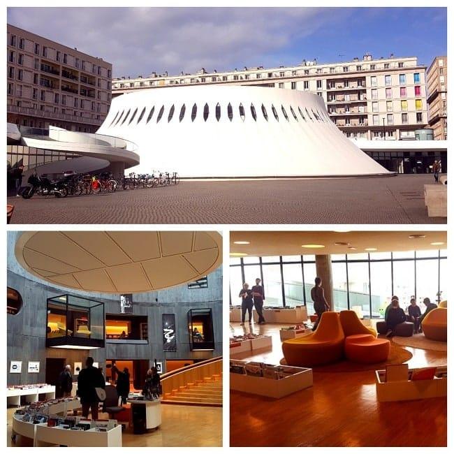 La Médiathèque du Havre