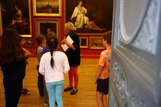 Atelier enfants au musée Denon de Chalon