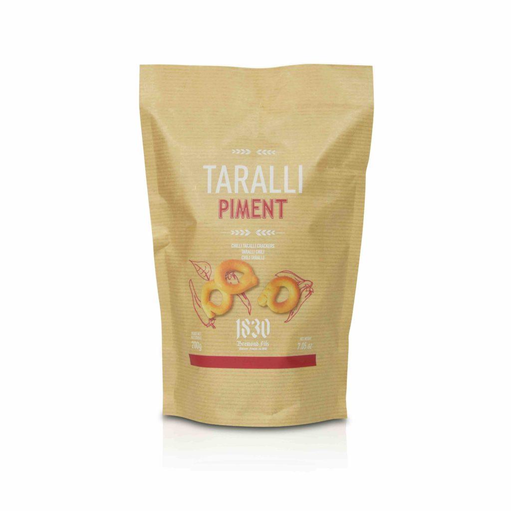 biscuits salés Taralli piment Maison Brémond