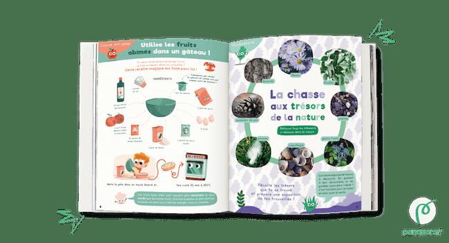 cahier de vacances green Pandacraft