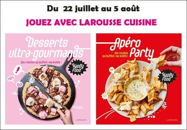 concours Larousse Cuisine Mafamillezen
