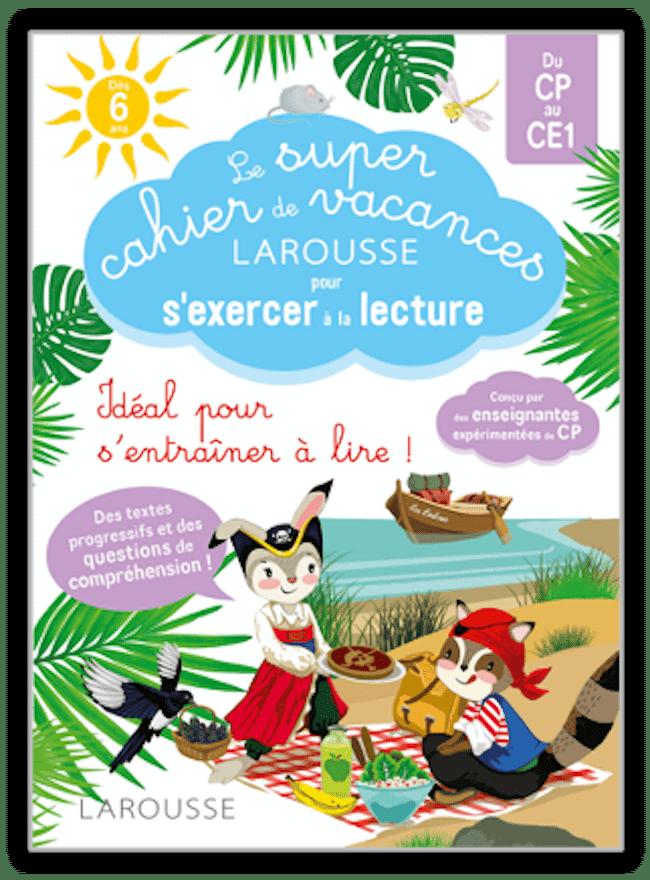 Cahier de vacances lecture Larousse