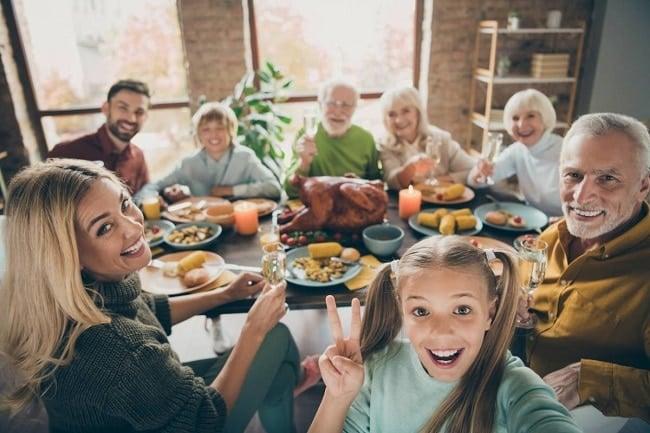 photo de famille pour immortaliser les bons moments en famille