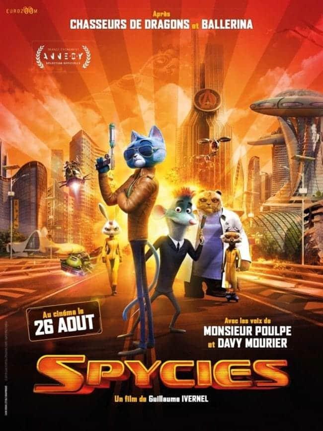 Affiche de Spycies, film d'animation