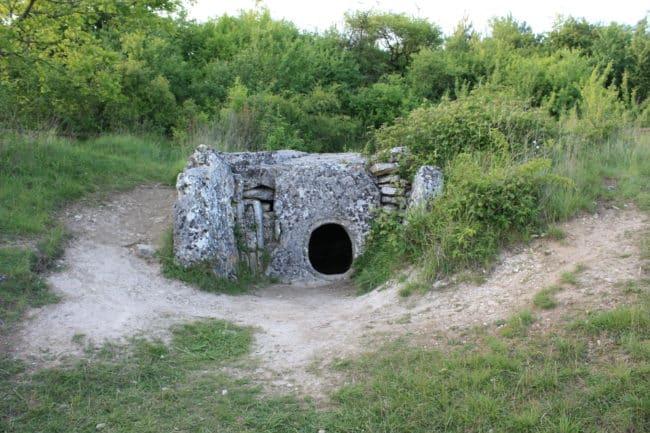 Allée couverte au Musée de l'archéologie, Vexin français
