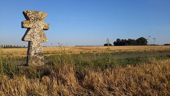 Parc naturel du Vexin français, croix pattée