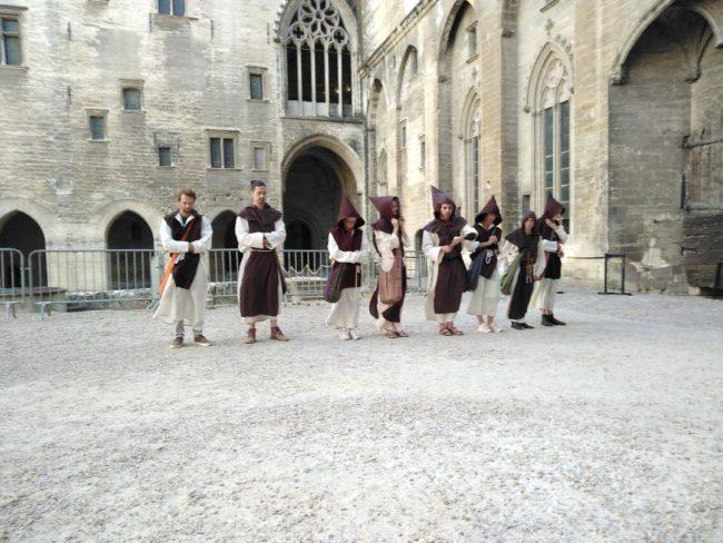 Noct'enbulle au Palais des Papes d'Avignon