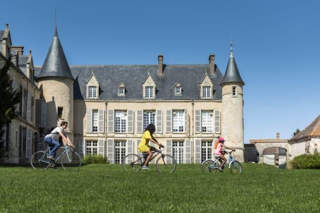 La Maison du Parc du Vexin à vélo