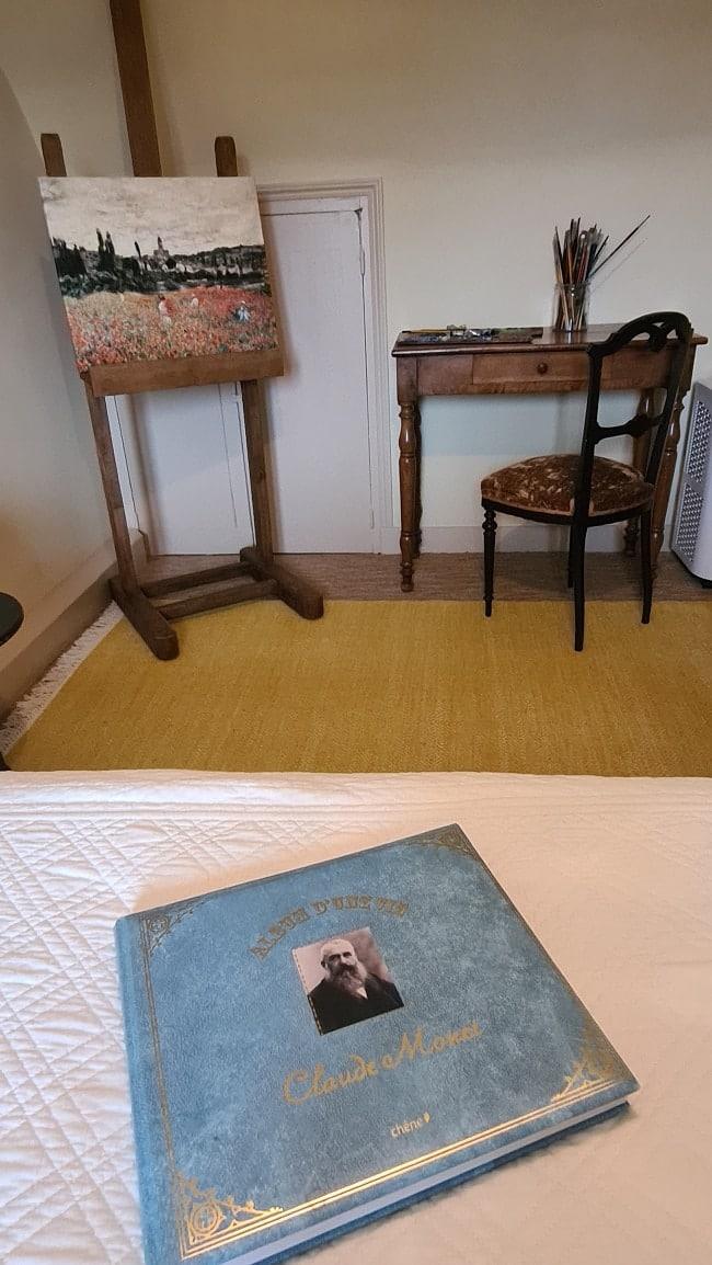 Chambre d'hôtes dans la Maison de Monet à Vétheuil