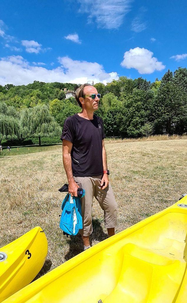 Rando en canoë sur la Seine dans le Vexin avec Julien Masson
