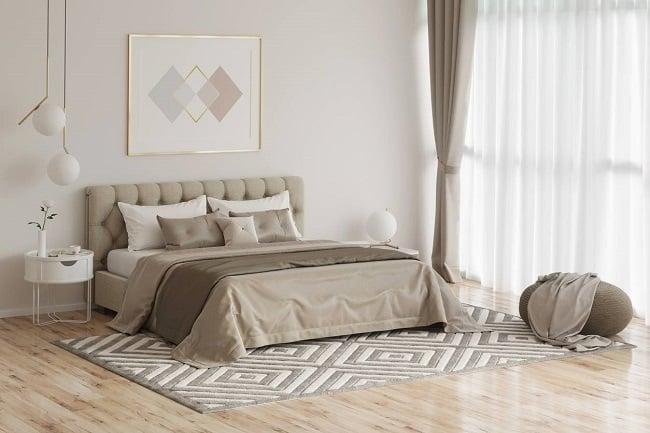 décoration chambre parentale douillette