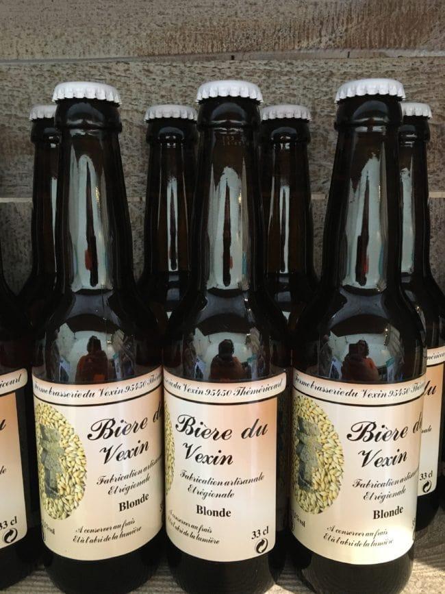 Bière du Vexin, produit Valeurs Parc