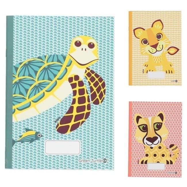 cahiers animaux MIBO