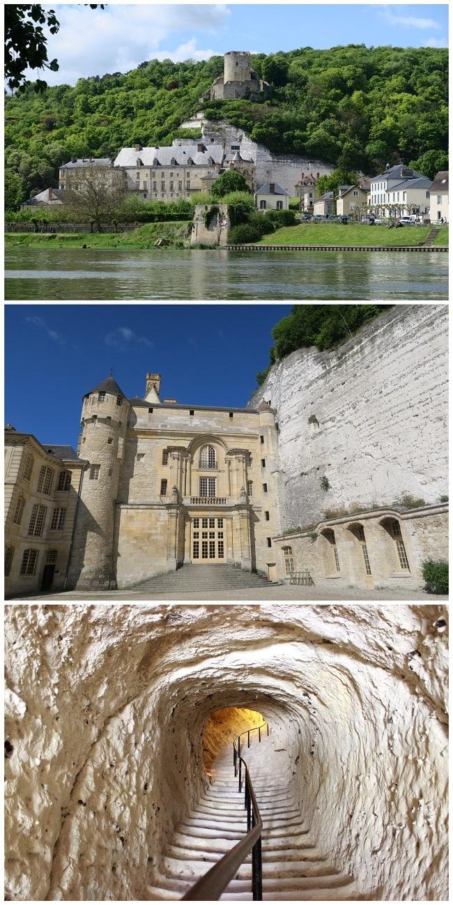 Château de La Roche-Guyon, Vexin français
