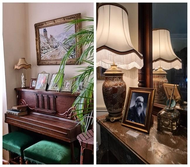Maison de Monet à Vertheuil, salon