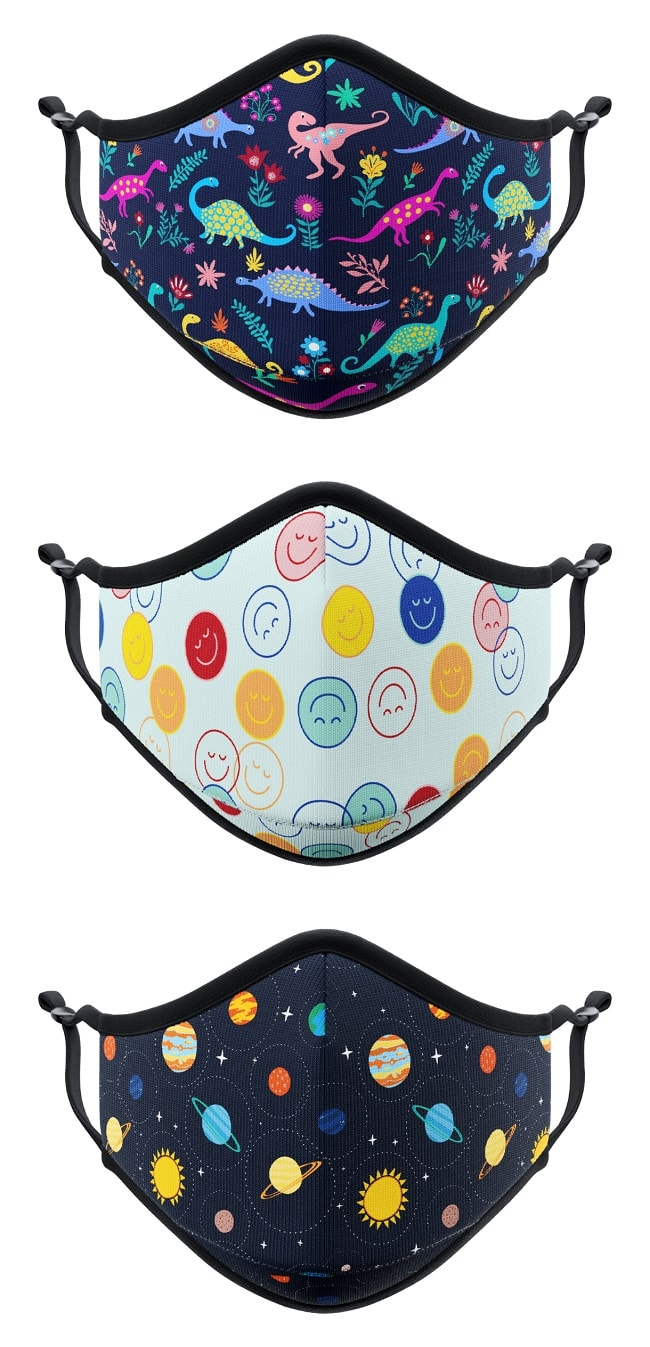 masques personnalisés enfants