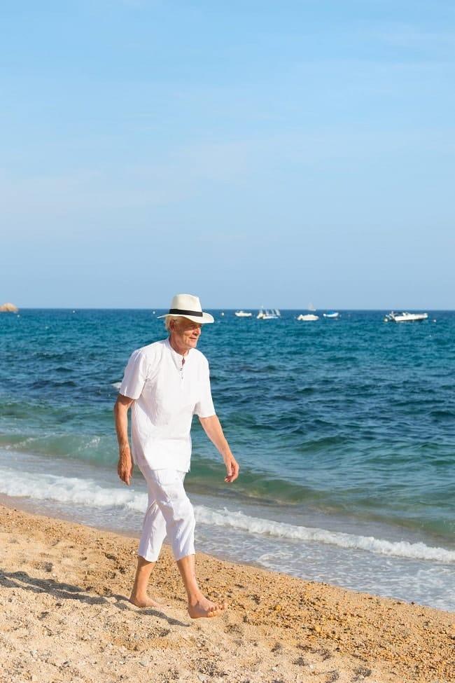 mode masculine tendance Riviera
