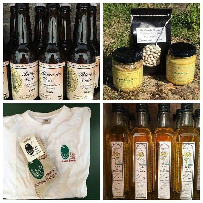 Produits régionaux du Vexin labellisés Valeurs Parc