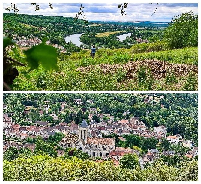 panorama sur le PNR du Vexin français, Vétheuil