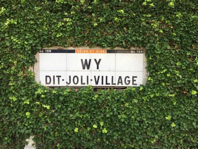 Wy-dit-joli-village, dans le Vexin français