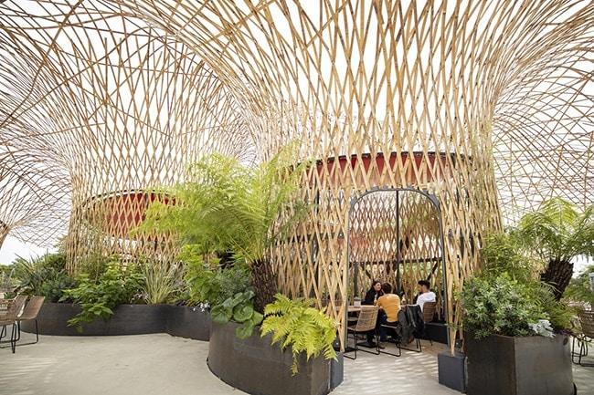 Terra Botanica espace café