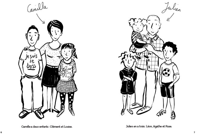 La Famille Puzzle, BD famille recomposée