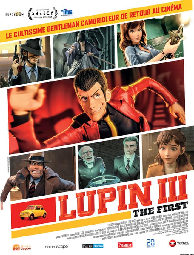 Lupin II The First affiche du film
