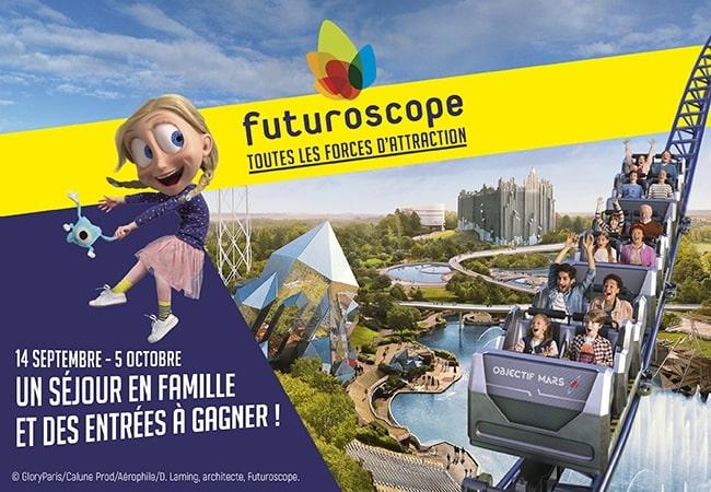 concours Futuroscope Mafamillezen septembre 2020