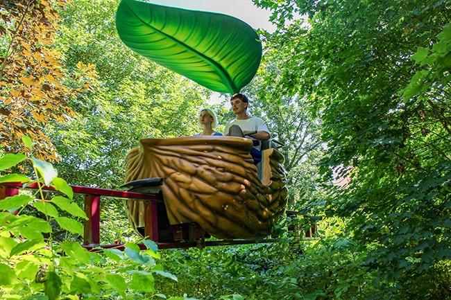 Terra Botanica Angers, balade en coquille de noix