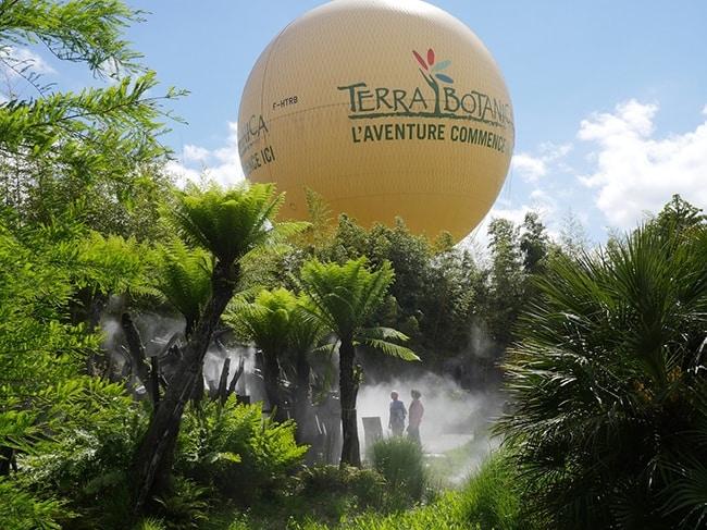 Terra Botanica parc sur le thème du végétal
