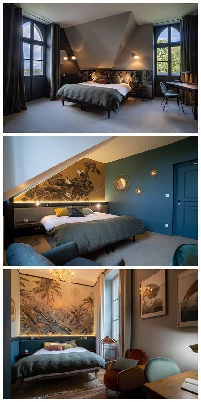 Château des Forges à Angers chambres