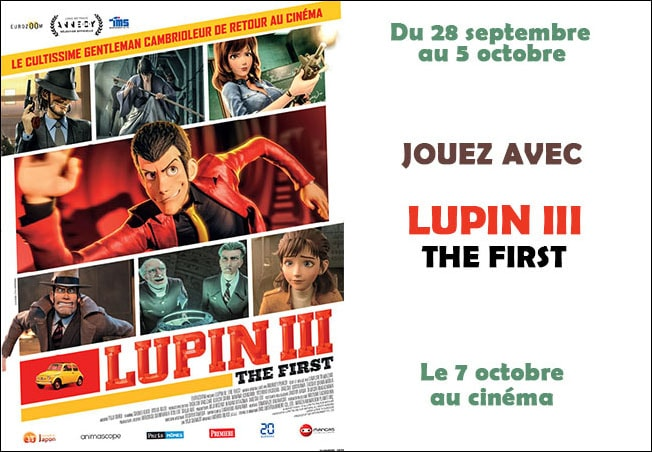 concours Lupin III Mafamillezen