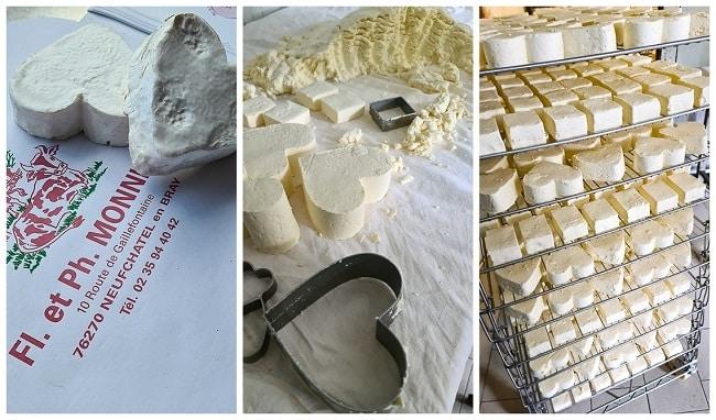 la ferme Monnier producteur du fromage de Neufchâtel