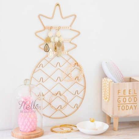 porte-bijoux ananas