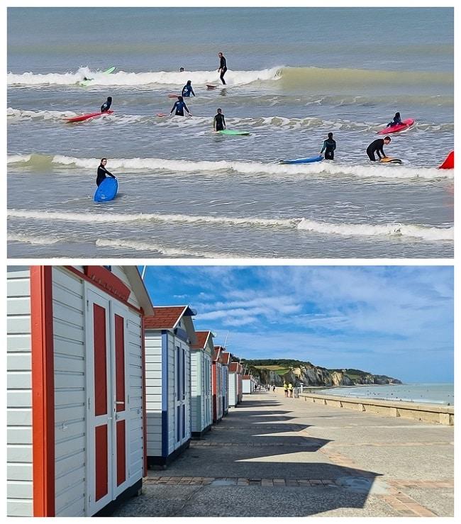 initiation au surf à Pourville-sur-Mer