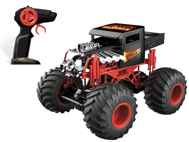 Hot Wheels Monster Truck Bone Shaker radiocommandé chez Mondo
